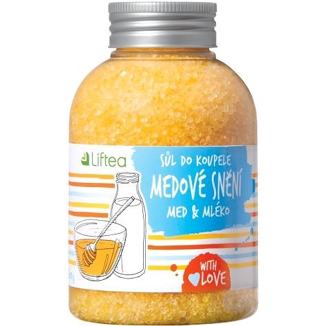LIFTEA Bath Salts Honey Dream 600g - Bath Salts