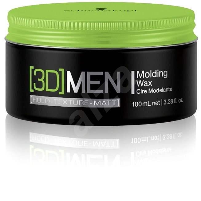 SCHWARZKOPF Professional [3D] Men Molding Wax 100ml - Hair Wax