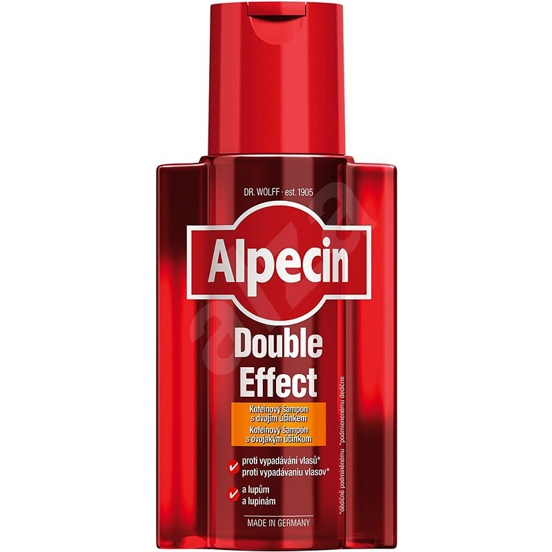 ALPECIN Double-Effect Shampoo 200 ml - Šampon pro muže