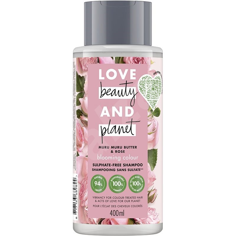 LOVE BEAUTY AND PLANET Blooming Colour Shampoo 400 ml - Šampon