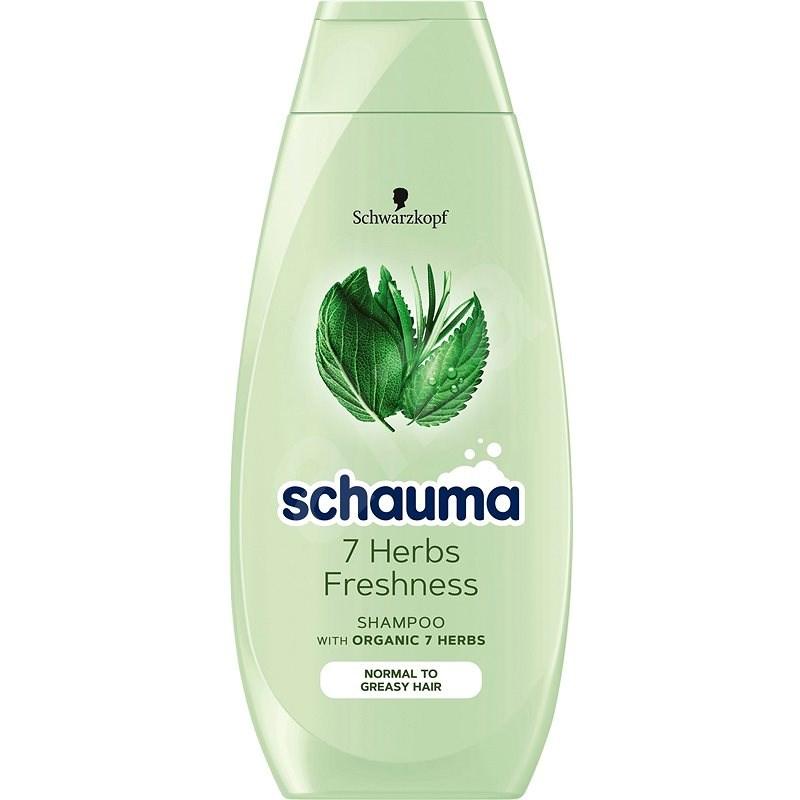 SCHWARZKOPF SCHAUMA 7 Herbs Shampoo 400 ml - Šampon