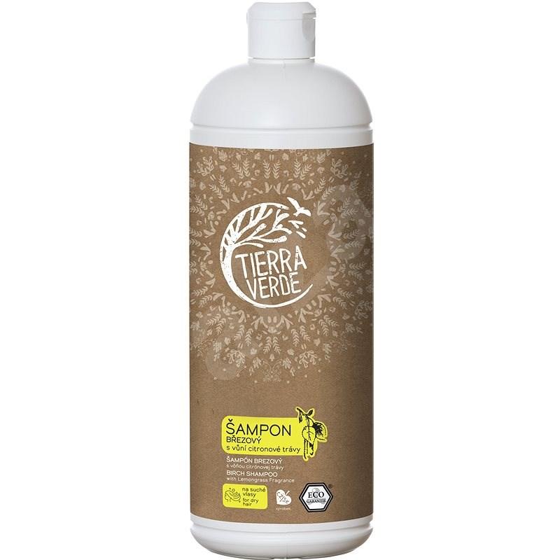 TIERRA VERDE Šampon Březový s vůní citronové trávy 1000 ml - Přírodní šampon