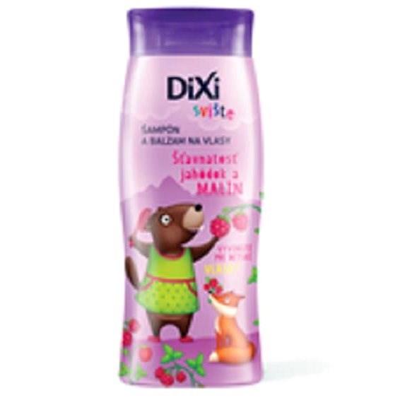 DIXI Šampon a balzám Sviště šťavnatost jahůdek a malin 250 ml - Dětský šampon