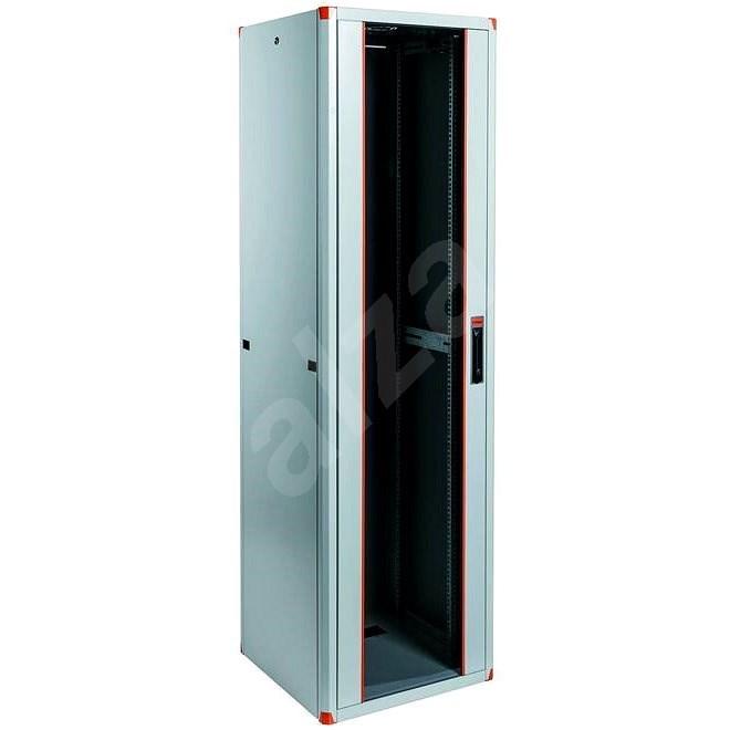 """Legrand EvoLine 19"""" stojanový rozvaděč 47U, 600x600mm, 1000kg, jednokřídlé skleněné dveře - Rozvaděč"""