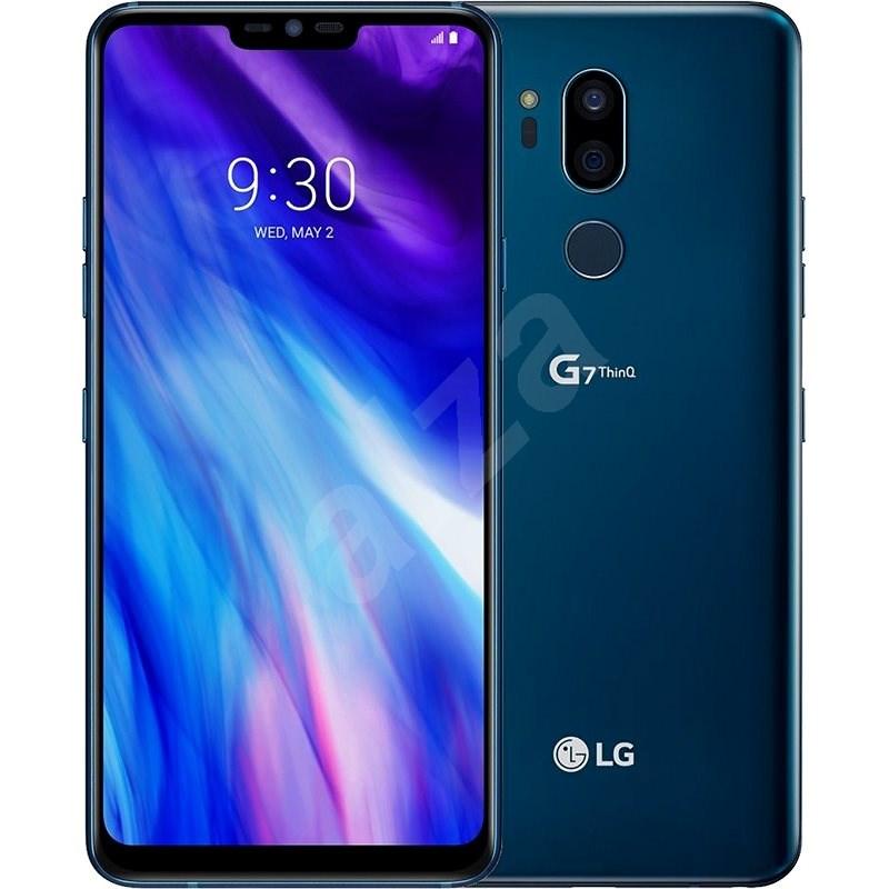 LG G7 ThinQ Blue - Mobilní telefon