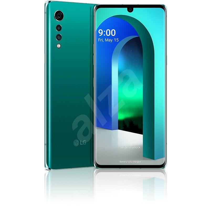 LG Velvet zelená - Mobilní telefon