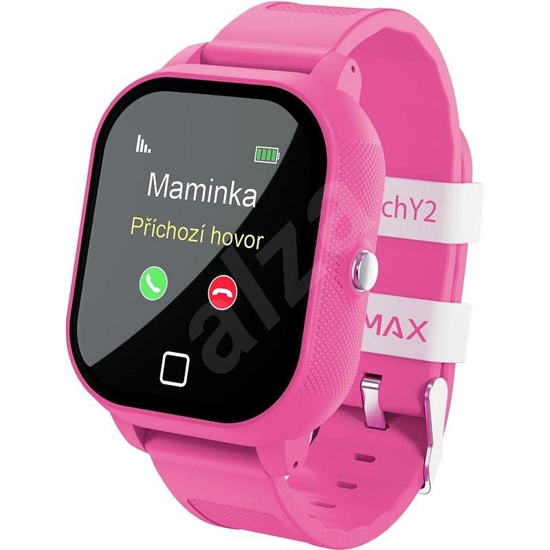 LAMAX WatchY2 Pink - Chytré hodinky