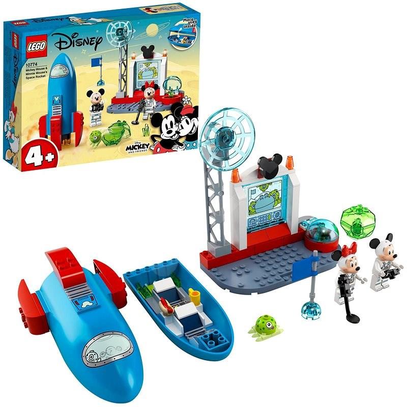 LEGO®   Disney Mickey and Friends 10774 Myšák Mickey a Myška Minnie jako kosmona - LEGO stavebnice
