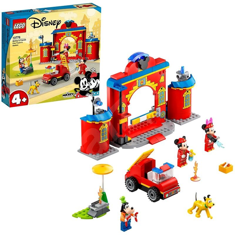 LEGO®   Disney Mickey and Friends 10776 Hasičská stanice aauto Mickeyho apřáte - LEGO stavebnice
