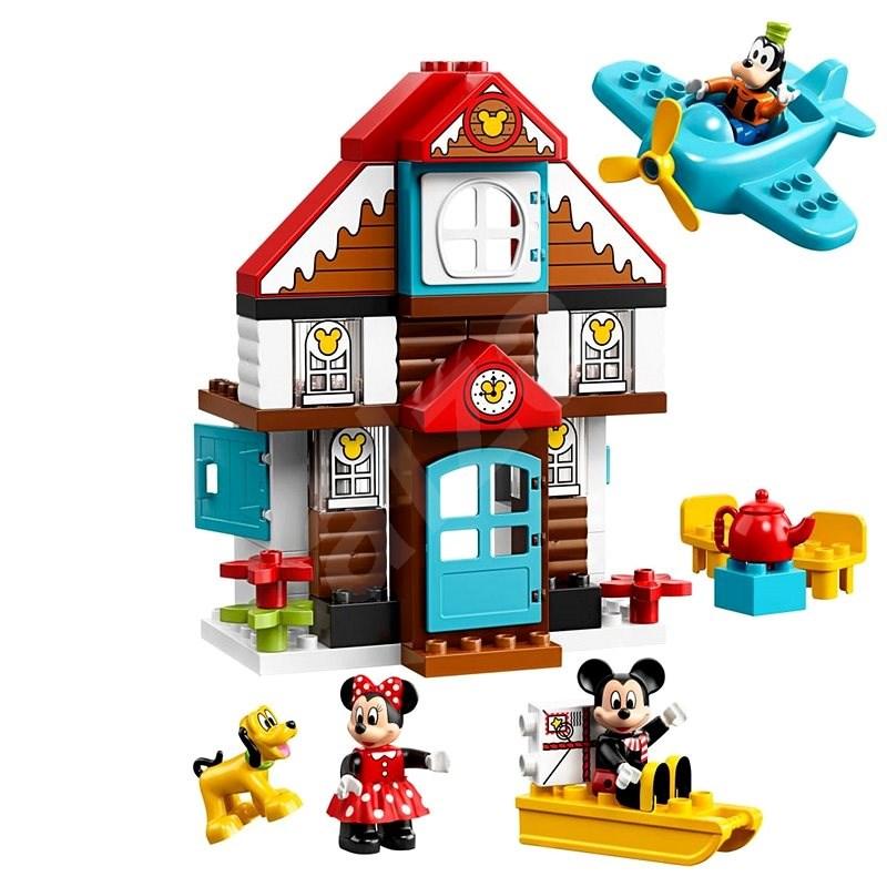 LEGO DUPLO Disney 10889 Mickeyho prázdninový dům - LEGO stavebnice