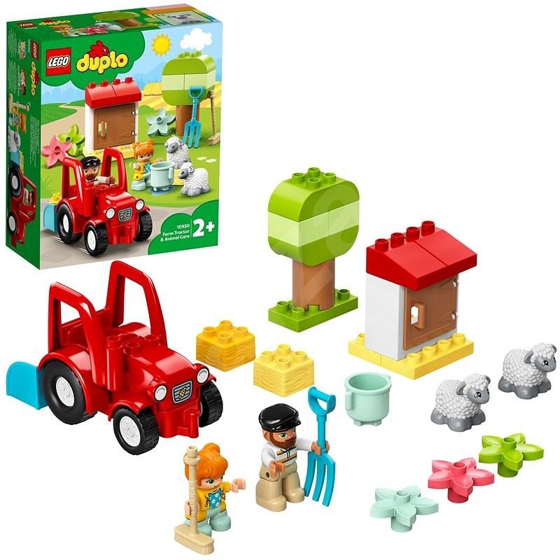 LEGO DUPLO Town 10950 Traktor a zvířátka z farmy - LEGO stavebnice