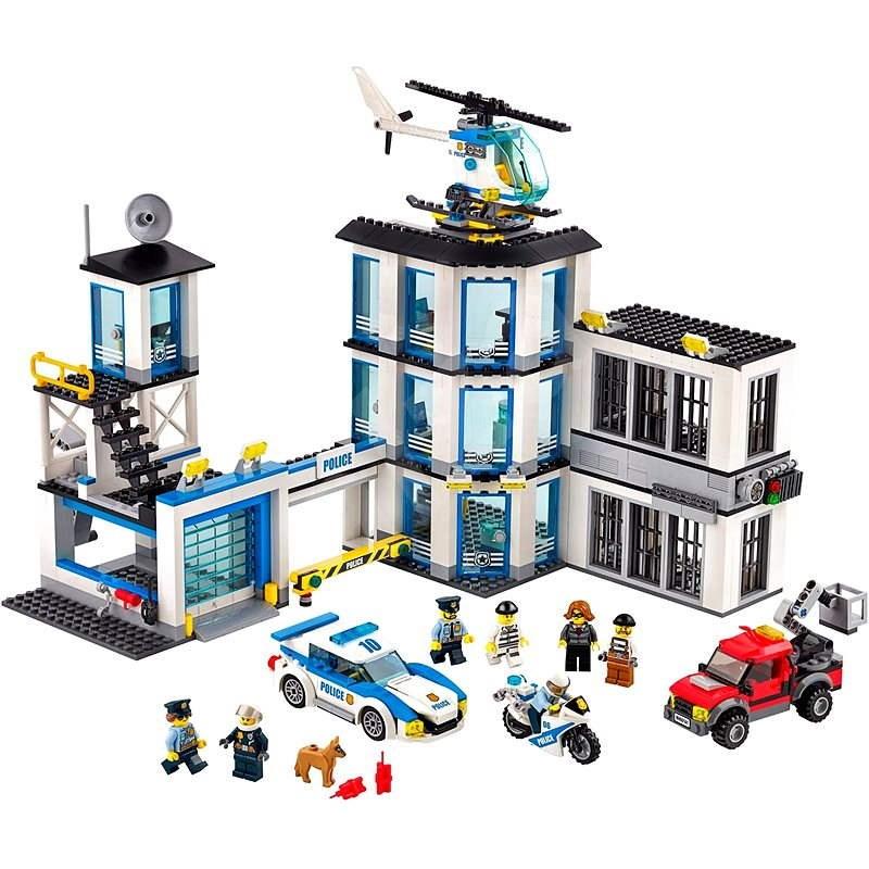 LEGO City 60141 Policejní stanice - LEGO stavebnice