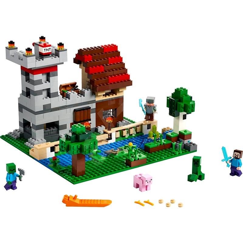 LEGO Minecraft 21161 Kreativní box 3.0 - LEGO stavebnice
