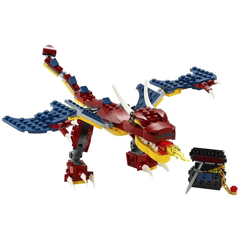 LEGO Creator 31102 Ohnivý drak - LEGO stavebnice