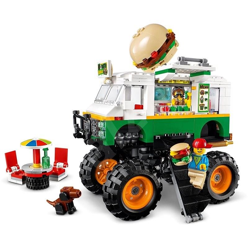 LEGO Creator 31104 Hamburgerový monster truck - LEGO stavebnice