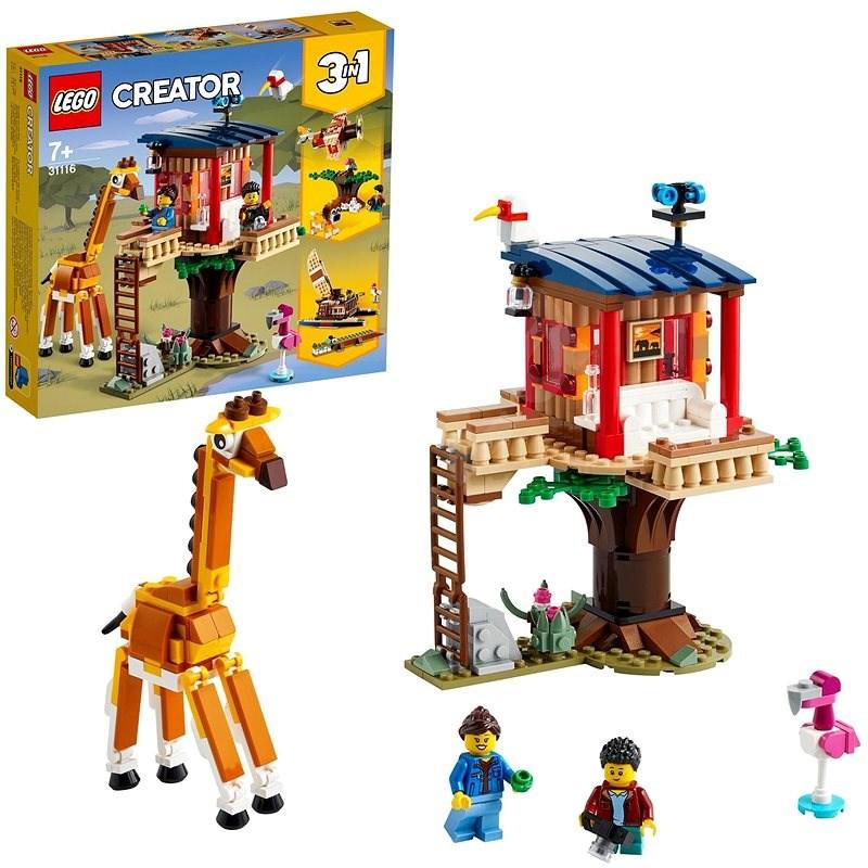 LEGO Creator 31116 Safari domek na stromě - LEGO stavebnice