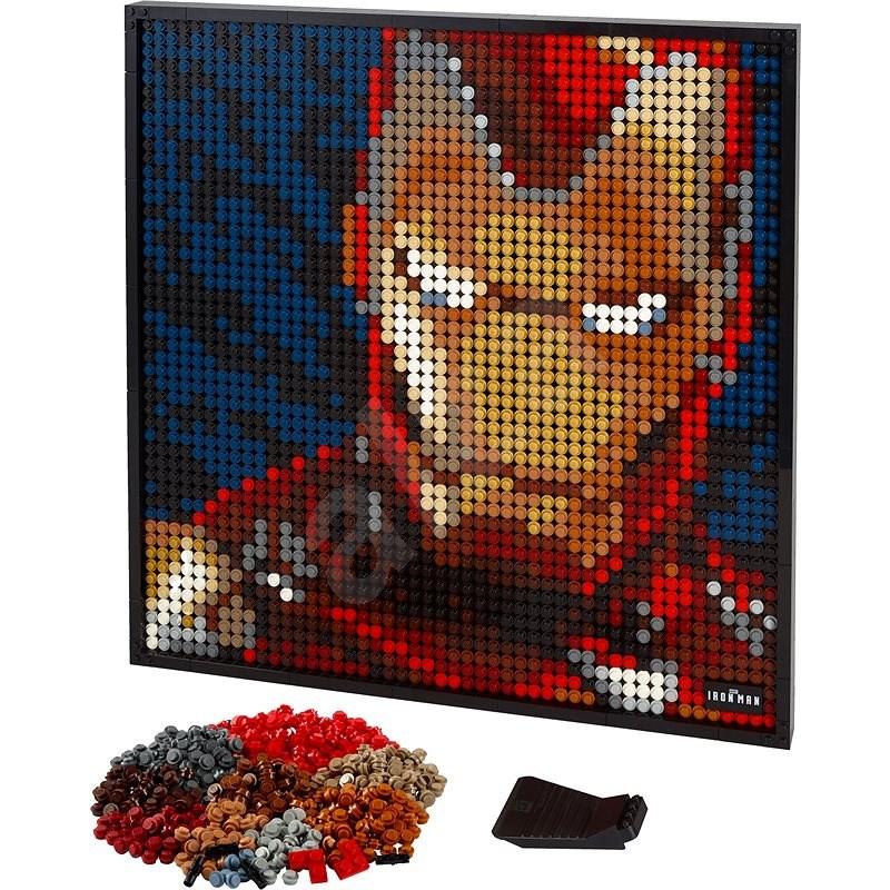 LEGO ART 31199 Iron Man od Marvelu - LEGO stavebnice