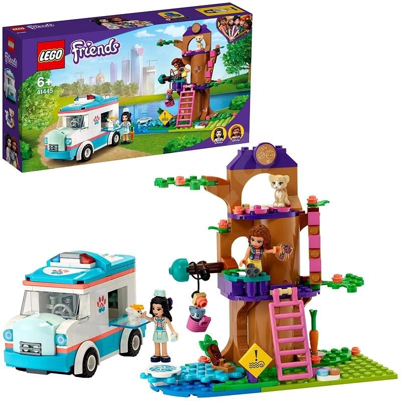 LEGO Friends 41445 Veterinární sanitka - LEGO stavebnice