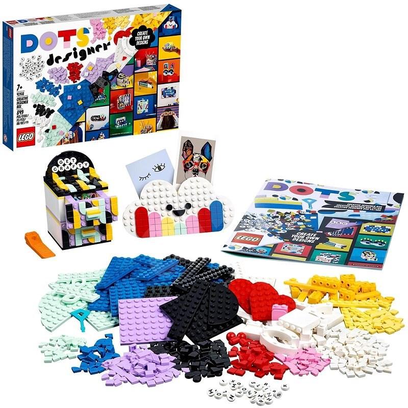 LEGO® DOTS 41938 Kreativní designerský box - LEGO stavebnice