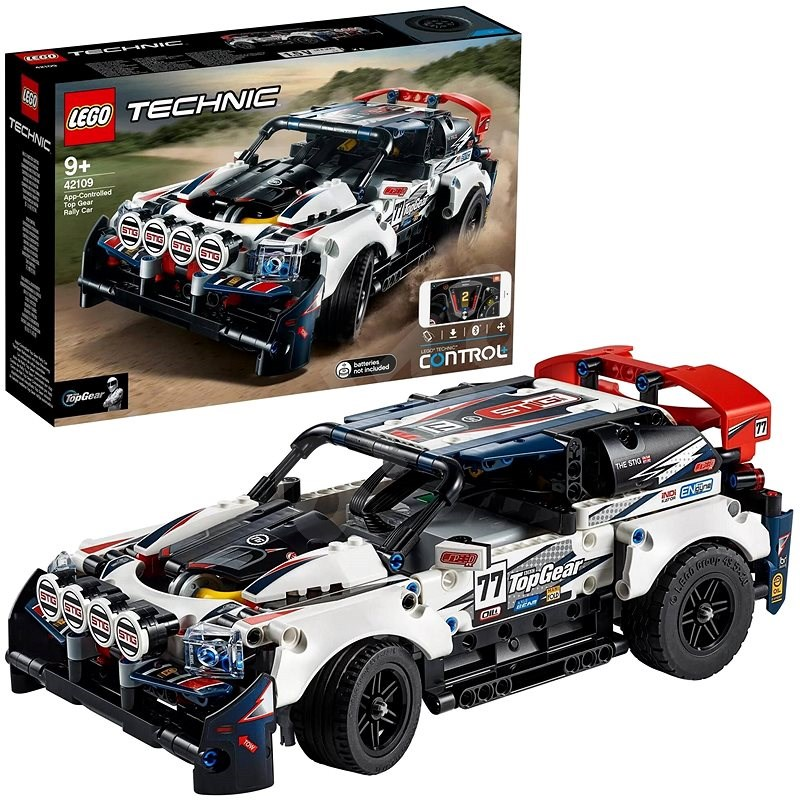 LEGO Technic 42109 RC Top Gear závodní auto - LEGO stavebnice