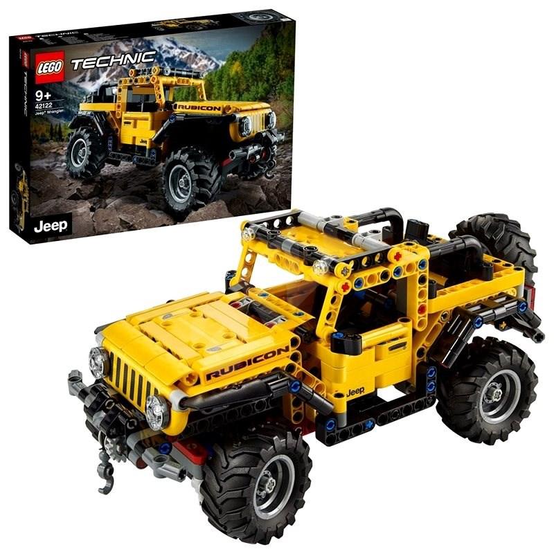LEGO Technic 42122 Jeep® Wrangler - LEGO stavebnice