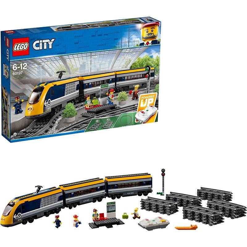 LEGO City Trains 60197 Osobní vlak - LEGO stavebnice