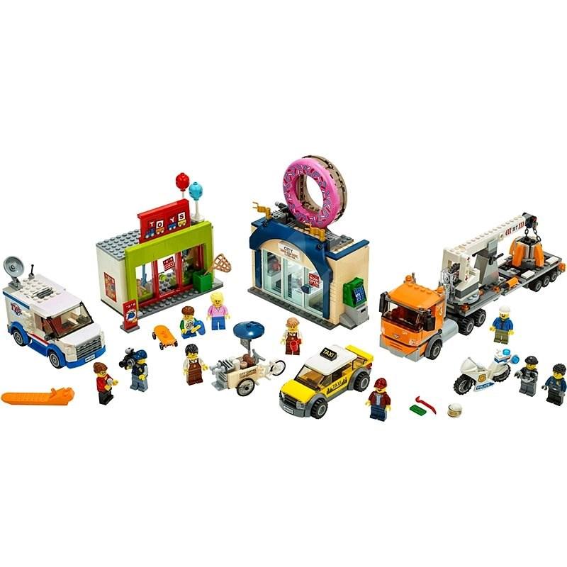 LEGO City Town 60233 Otevření obchodu s koblihami - LEGO stavebnice