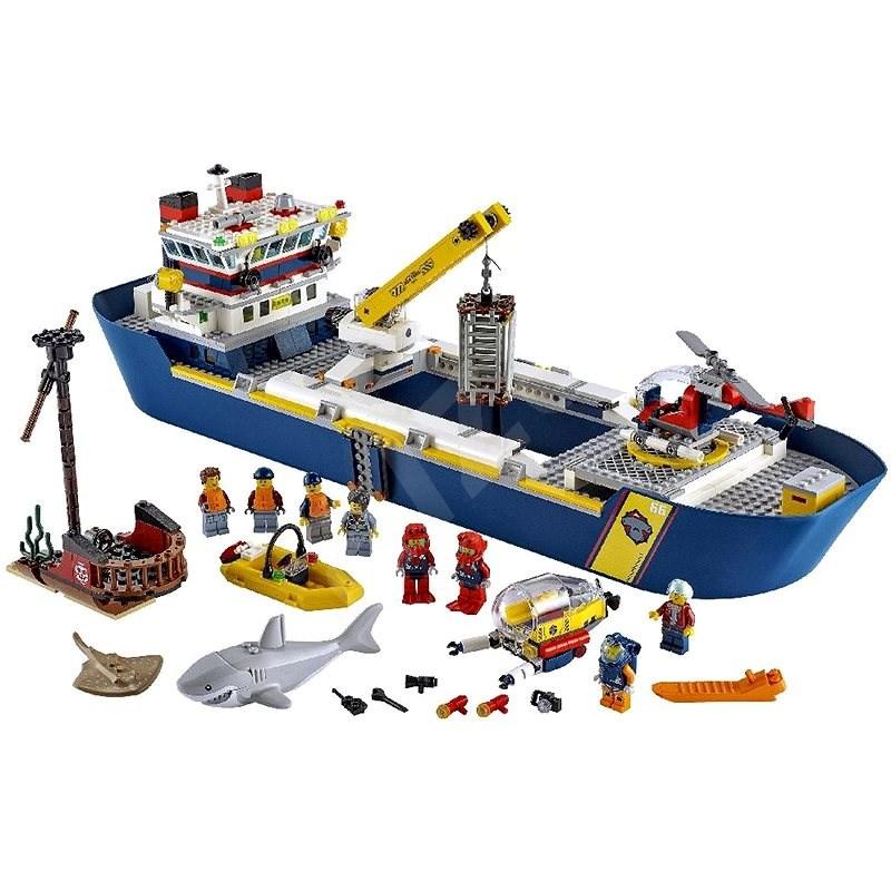 LEGO City 60266 Oceánská průzkumná loď - LEGO stavebnice