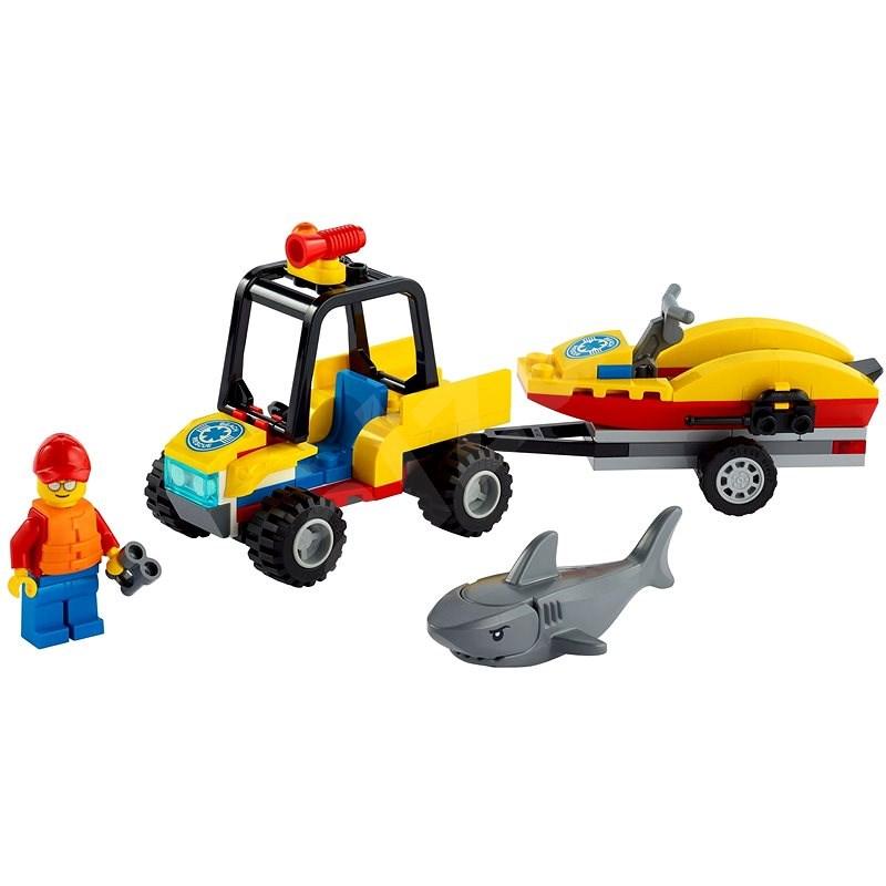 LEGO City 60286 Záchranná plážová čtyřkolka - LEGO stavebnice