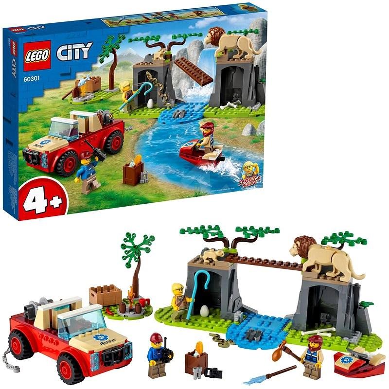 LEGO® City 60301 Záchranářský teréňák do divočiny - LEGO stavebnice