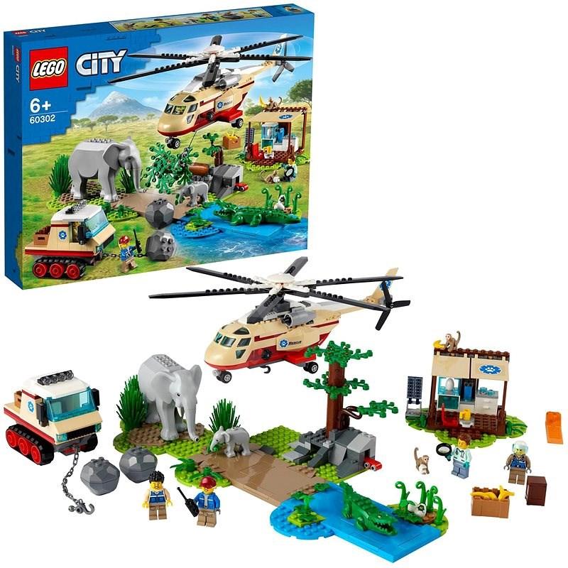 LEGO® City 60302 Záchranná operace v divočině - LEGO stavebnice