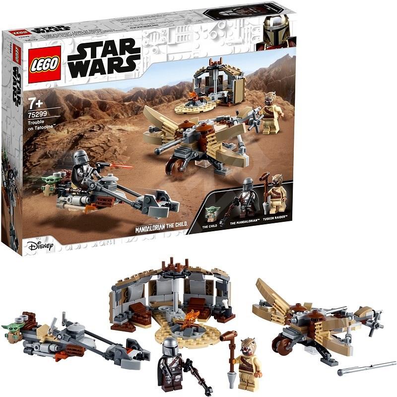 LEGO Star Wars TM 75299 Potíže na planetě Tatooine™ - LEGO stavebnice