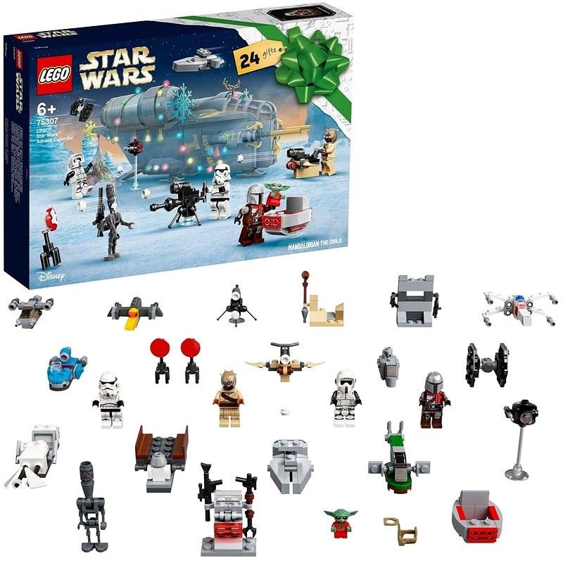 LEGO® Star Wars™ 75307 Adventní kalendář LEGO® Star Wars™ - LEGO stavebnice