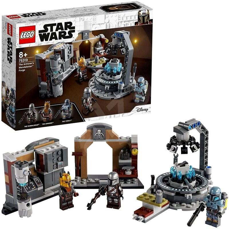 LEGO® Star Wars™ 75319 Kovárna mandaloriánské zbrojmistryně - LEGO stavebnice