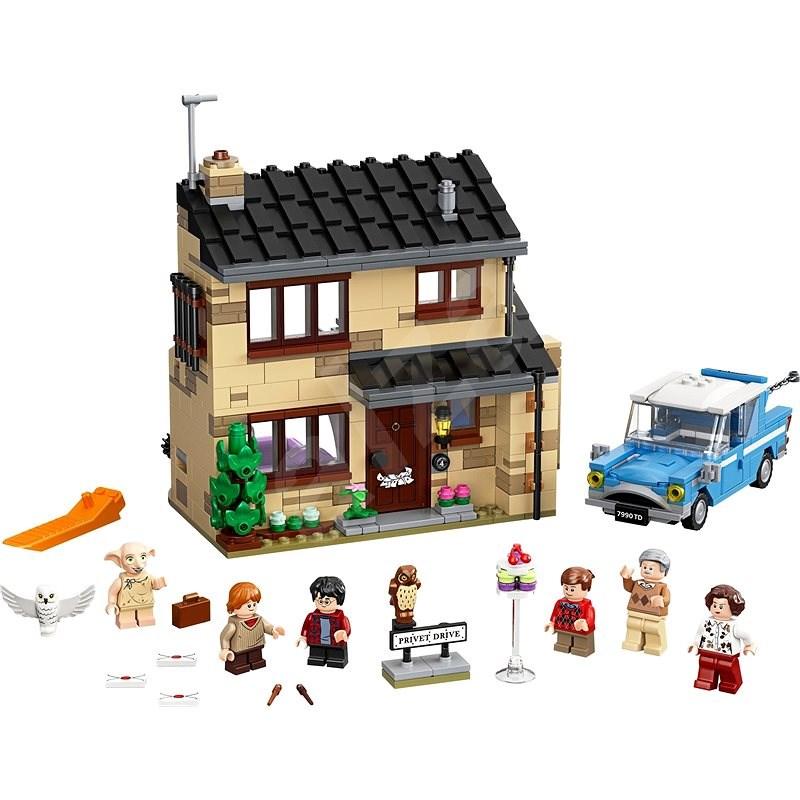 LEGO Harry Potter TM 75968 Zobí ulice 4 - LEGO stavebnice