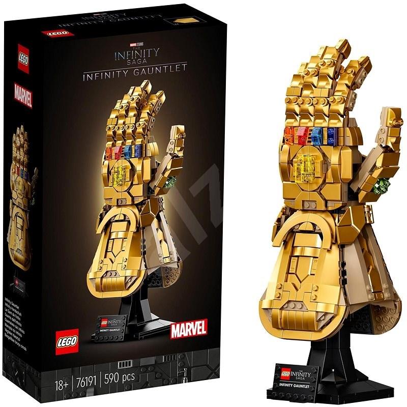 LEGO® Marvel Avengers 76191 Rukavice nekonečna - LEGO stavebnice