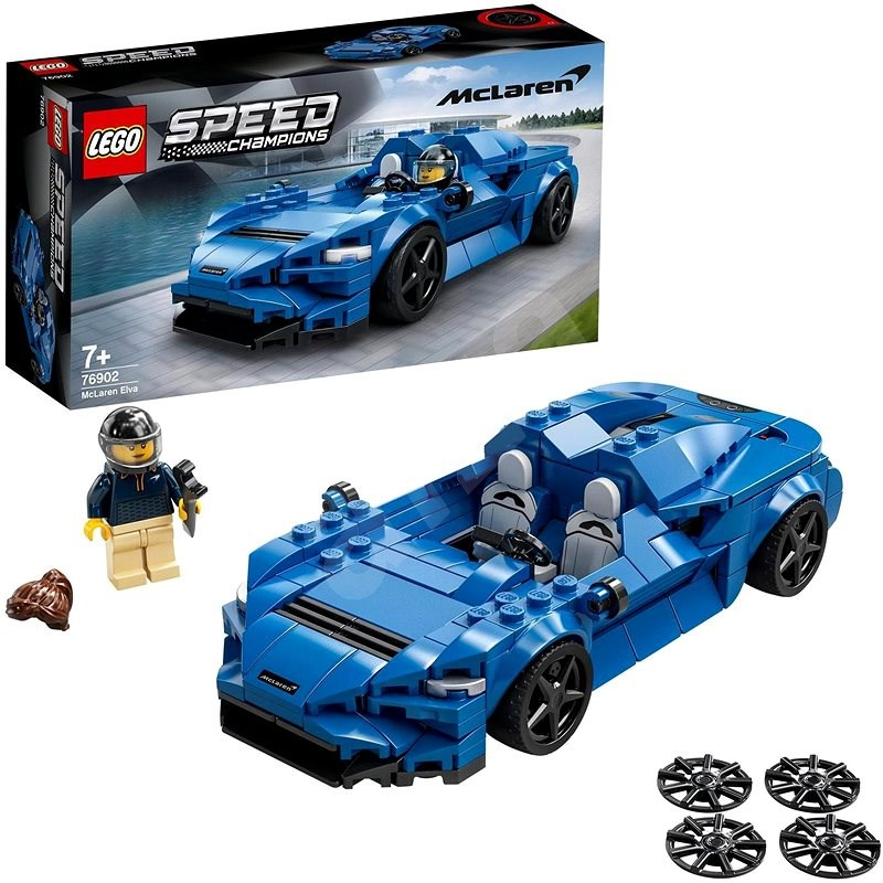 LEGO® Speed Champions 76902 McLaren Elva - LEGO stavebnice