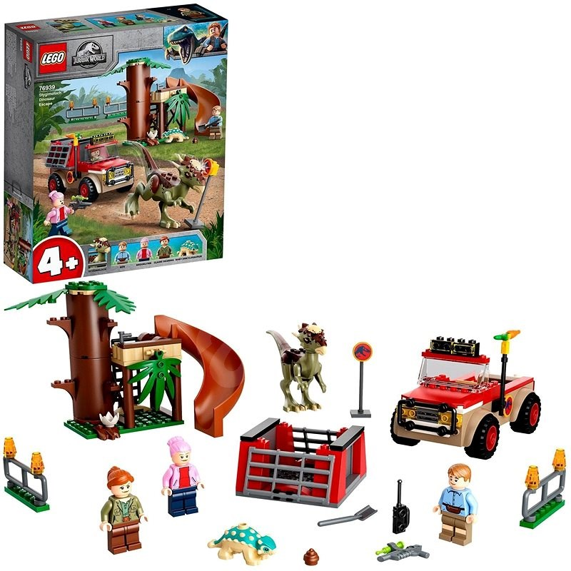 LEGO® Jurassic World™ 76939 Útěk dinosaura stygimolocha - LEGO stavebnice