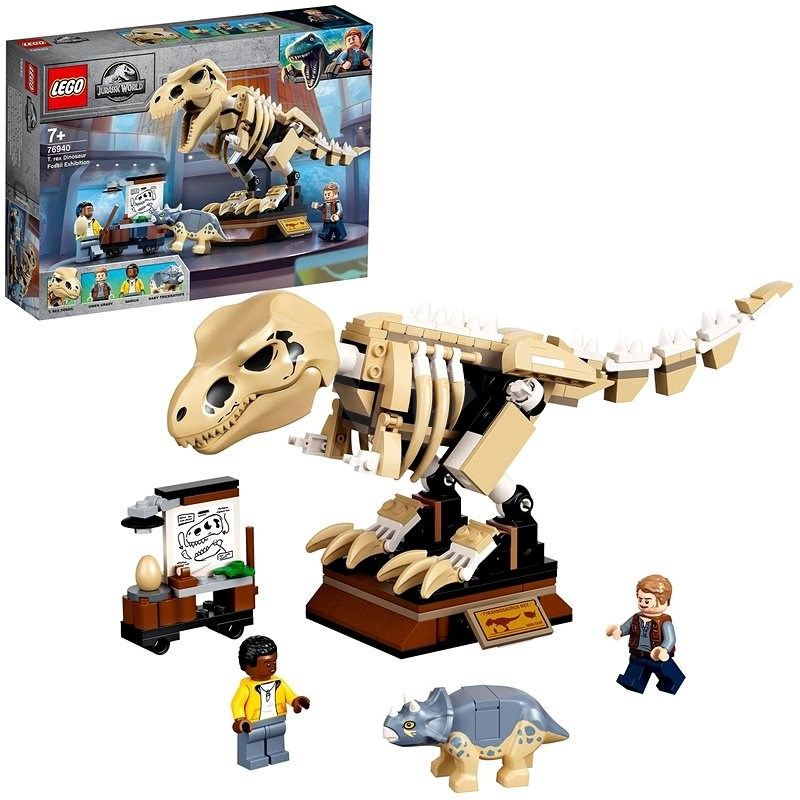 LEGO® Jurassic World™ 76940 Výstava fosílií T-rexe - LEGO stavebnice