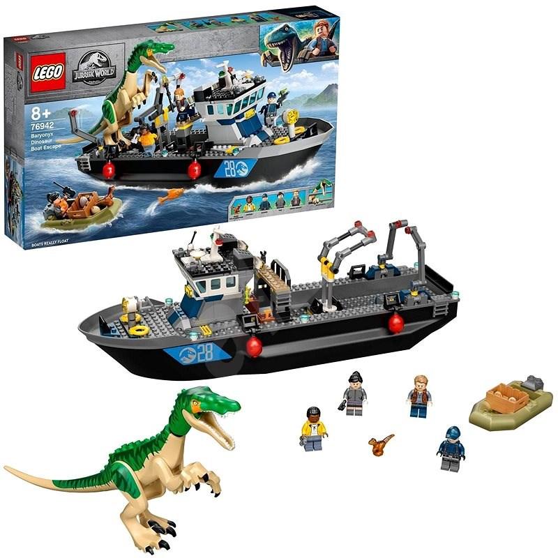 LEGO® Jurassic World™ 76942 Útěk baryonyxe zlodě - LEGO stavebnice