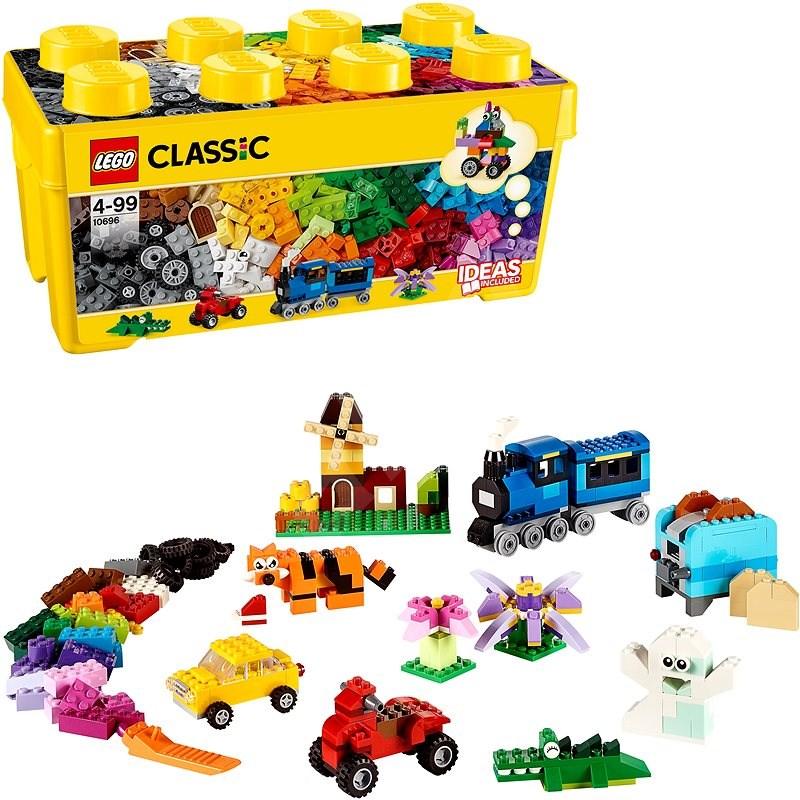 LEGO Classic 10696 Střední kreativní box - LEGO stavebnice