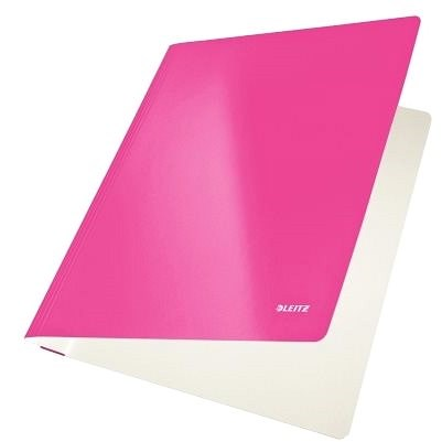 LEITZ Wow růžové - 250 listů - Desky s rychlovazačem