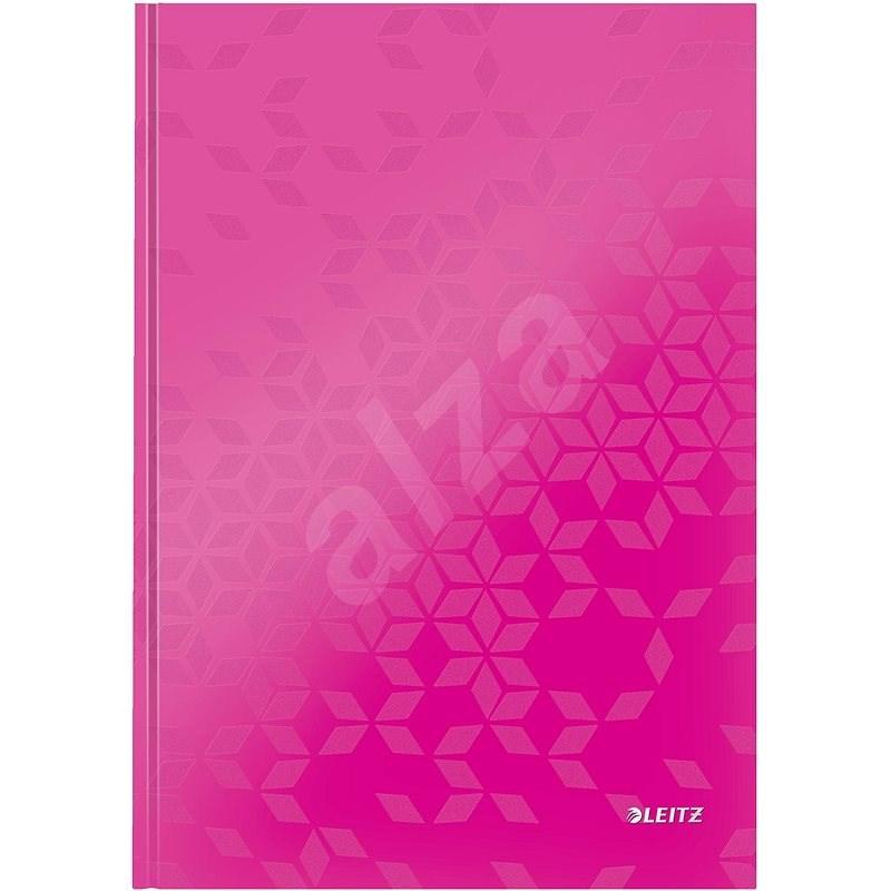 Leitz WOW A4, linkovaný růžový - Poznámkový blok