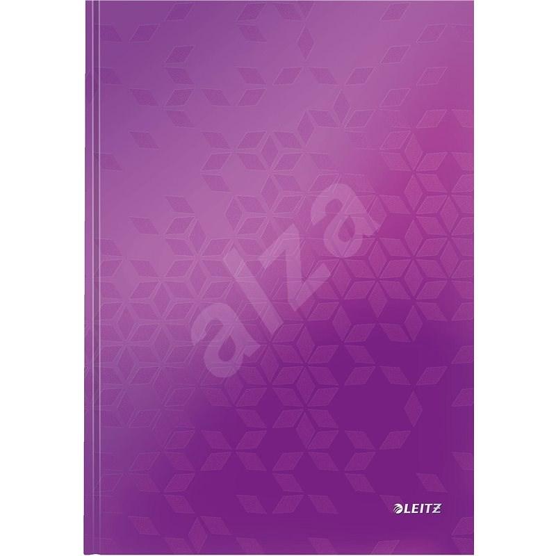 Leitz WOW A4, linkovaný fialový - Poznámkový blok
