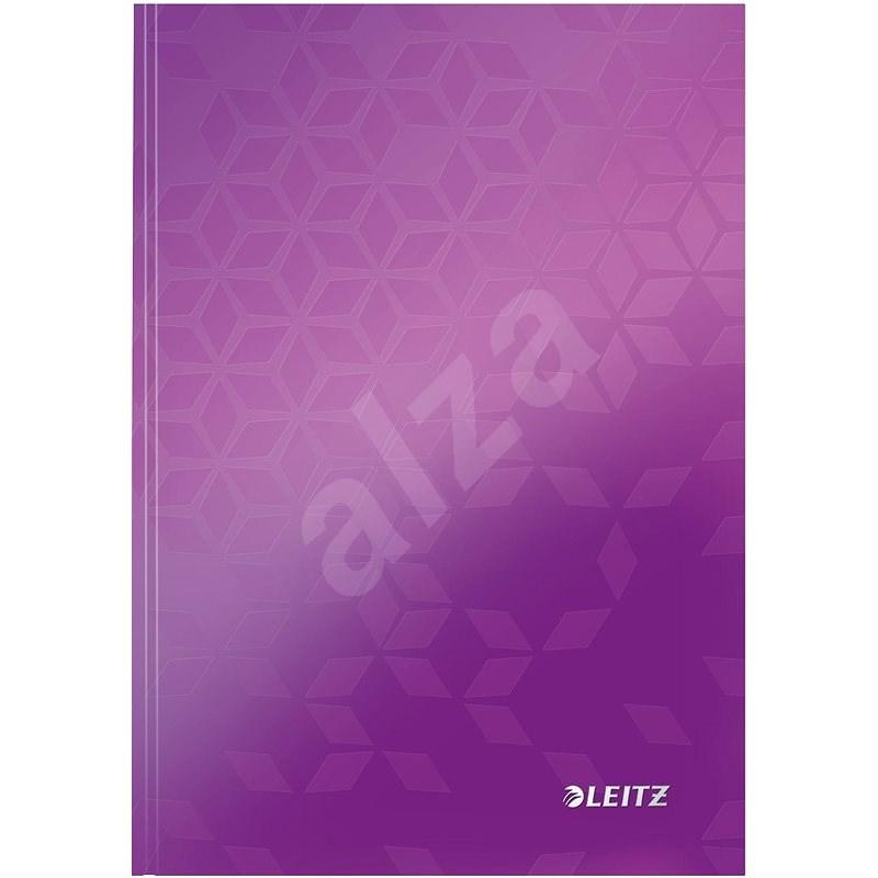 Leitz WOW A5, linkovaný fialový - Poznámkový blok
