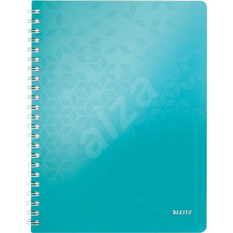 Leitz WOW A4, linkovaný, ledově modrý - Poznámkový blok