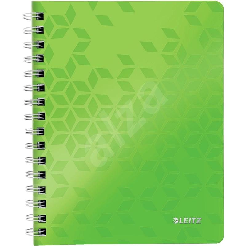 Leitz WOW A5, linkovaný, zelený - Poznámkový blok