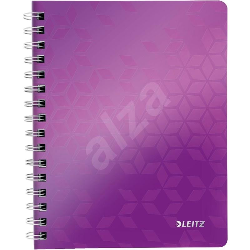 Leitz WOW A5, linkovaný, purpurový - Poznámkový blok