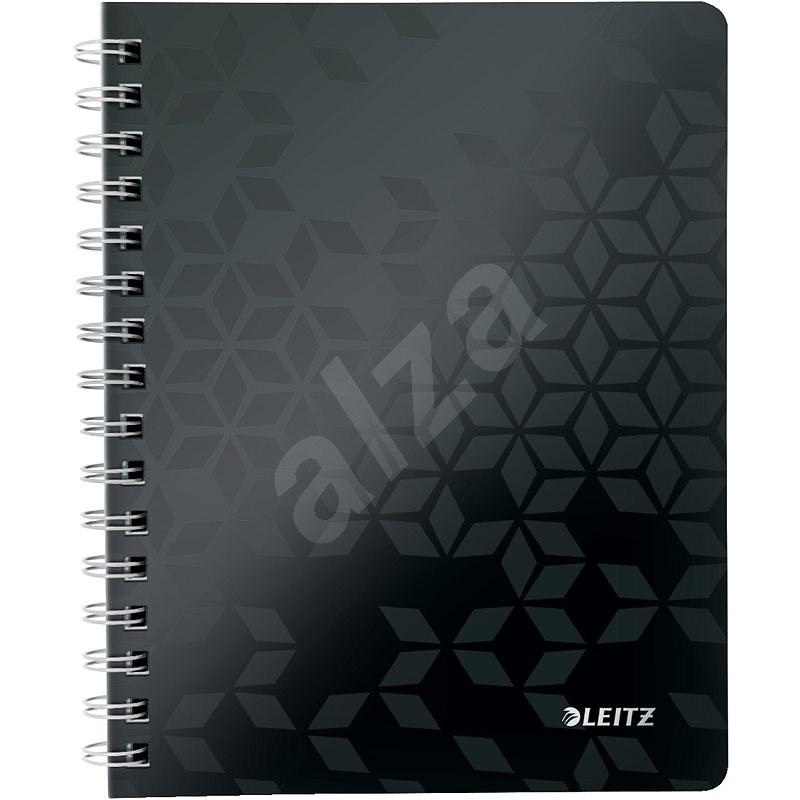 Leitz WOW A5, linkovaný, černý - Poznámkový blok