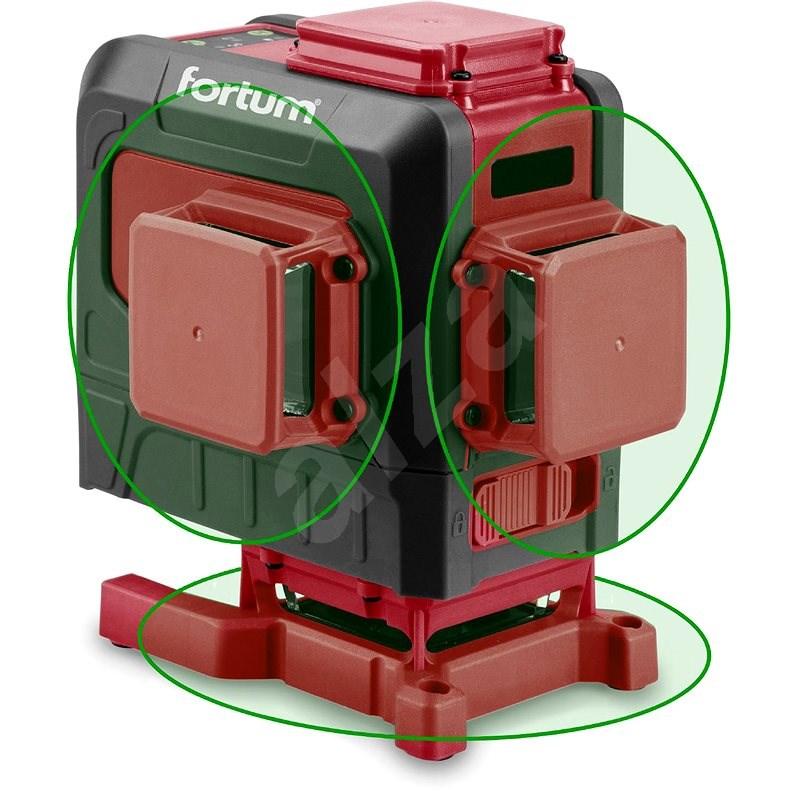 FORTUM 4780216 - Křížový laser